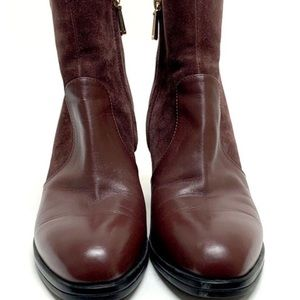 Tods Authentic Maroon Ankle Boots Women's Size:37